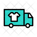 Laundry Delivery Truck Icon