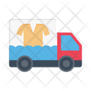 Delivery Clothes Laundry Icon