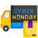Delivery Truck Delivery Cyber Monday Icon