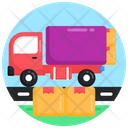 Shipment Truck Delivery Truck Delivery Vehicle Icon