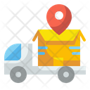 Delivery Truck Shipping Truck Shipping Icon