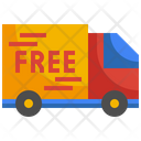 Delivery Truck Free Delivery Transportion Icon
