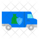 Truck Armored Bank Security Car Icon