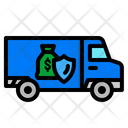 Delivery Truck Truck Armored Icon