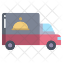 Delivery Truck Delivery Van Food Delivery Icon