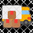 Delivery Truck Logistics Cargo Icon