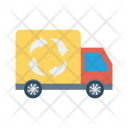 Delivery Truck Recycle Icon