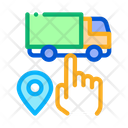 Truck Geolocation Selection Icon