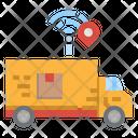 Delivery Truck Location Icon