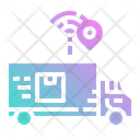 Truck Smart Logistics Icon