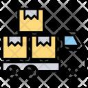 Cargo Shipment Parcel Icon