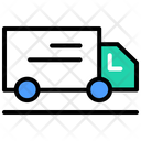 Delivery Van Delivery Truck Shipping Truck Icon
