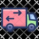 Delivery Van Truck Cargo Vehicle Icon