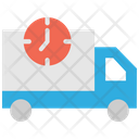 Delivery Van Delivery Time Fast Delivery Icon