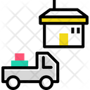 Delivery Van Delivery Truck Courier Truck Icon