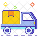 Delivery Truck Delivery Van Logistics Icon