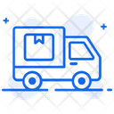 Dispatch Order Delivery Van Shipping Truck Icon