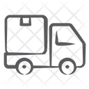 Cargo Truck Delivery Van Goods Delivery Icon