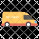 Delivery Van Commercial Icon