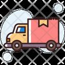 Delivery Van Delivery Truck Cargo Icon