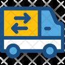 Van Shipping Truck Icon