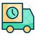 Delivery Waiting Package Logistic Icon