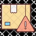 Delivery Alert Parcel Alert Delivery Warnng Icon