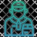 Deliveryman Icon