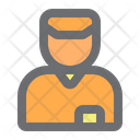 Deliveryman Delivery Worker Icon