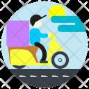 Deliveryman Delivery Man Icon