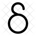 Delta Greek Alphabet Icon