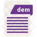 Dem file Icon