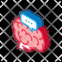 Dementia Brain Disease Icon