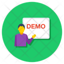 Demo Demonstration Presentation Icon