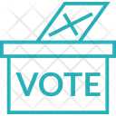 Democracy Election Sign Icon
