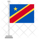 Democratic Republic Of Congo Country National Icon