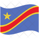 Flag Country Congo Democratic Republic Of The Icon