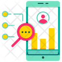 Demographic Tracking Analysis Target Audience Icon