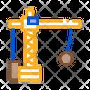Demolish Crane Icon