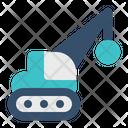 Demolition Machinery Icon