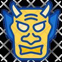 Demon Mask Icon