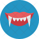 Demon Mouth Halloween Demon Mouth Halloween Denture Fangs Icon