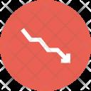 Demonetisation Demonetization Arrow Icon