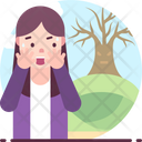 Dendrophobia Fear Of Trees Icon