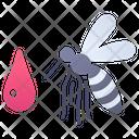 Fever Dengue Mosquito Icon