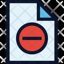 Denied File Icon
