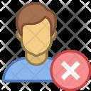 Denied user Icon