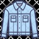 Denim Fashion Clothes Icon