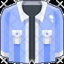Denim Shirt Denim Shirt Icon