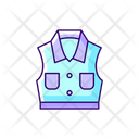 Denim Vest Icon